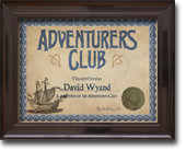 Advanturers Club Certificate